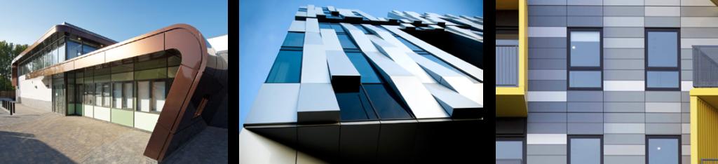 композитный фасад навесной вентилируемый фасад из композита в киеве